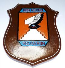 USAF 82d RS RECNNAISSANCE SQUADRON PLAQUE