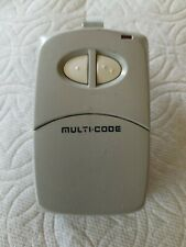 Multi Code By Linear Remote Control Garage/Gate Door Opener