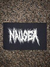 Nausea Punk Rock Crust Band Cloth Patch