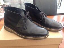 Clarks Original Leather Desert Boots | Black | UK 8.5