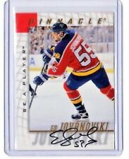 1998-99 Pinnacle Be A Player Autographs ED JOVANOVSKI   [Mint]