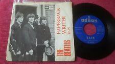 "The Beatles – Paperback Writer / Rain 7"" SINGLE Spanish 1966"