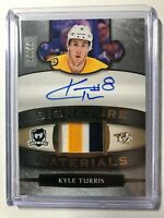 2018-19 The Cup Signature Materials Kyle Turris AUTO 3 Color PATCH /99