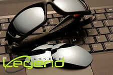 A21 Titanium Mirror POLARIZED Replacement Lenses For Oakley STRAIGHT JACKET 07UP