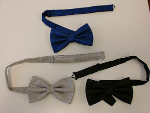 New Mens Pre-tied Tuxedo Wedding Dress  Adjustable BowTie