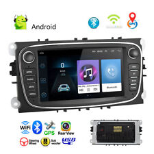 "7"" Android 8.1 Car Radio GPS Sat MP5 for Ford Focus Mondeo S/C-MAX Galaxy Kuga"