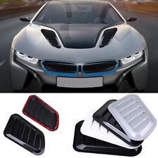 2x Carbon  Fiber Vehicle Car SUV Air Flow Fender Side Vent Decoration Sticker