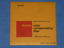 Kodak WRATTEN FILTRI 100x100 CC 10r