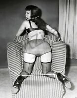 """Bettie Page Photo Retro Pin Up 015 Printed in Photo Lab 8""""x10"""" in"""
