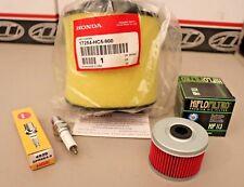 Honda TRX300 FourTrax Tune Up Kit OEM Air Filter Oil NGK Spark Plug TRX300FW TRX