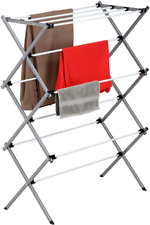 Dryer Storage Portable Clothes Drying Rack Laundry Stand Folding Hanger Indoor