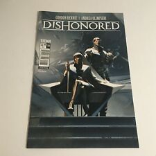 Dishonored  Comic Book Rare Preorder Bonus Titan Comics Issue 1