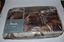 Wamsutta Eldorado Supercale 4 pc King Sheets Southwest 50% Cotton Polyester NEW