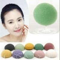 Natural Konjac Konnyaku Jelly Fiber Face Wash Cleanse Sponge Puff Exfoliator UK