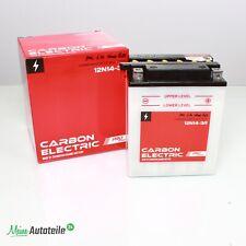 Batterie 12N14-3A YB14L-A2 Motorradbatterie 12V 14Ah CB14L-A2 51411 Quad