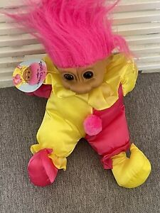 TROLL CLOWN BY RUSS WITH TAG COLLECTABLE Deceased Estate