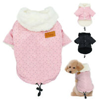 Warm Chihuahua Dog Clothes Winter Pet Coat Jacket for Dogs Cat Puppy Jumpers