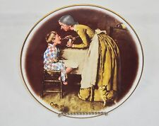 """Take Your Medicine"" Norman Rockwell Plate, 1977 Adventures Of Tom Sawyer Series"