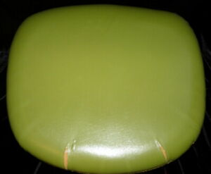 ORIGINAL MCM 1960s BURKE TULIP CHAIR Vinyl & Fabric Seat Cushion *Not Repro*