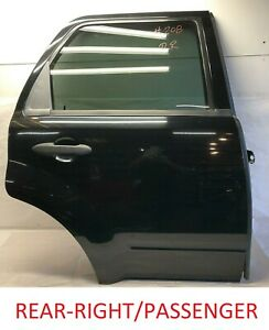 FORD ESCAPE 2008 - 2012 Rear Door Assembly Right Passenger Side Exterior Used