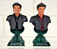 SET 2 ANGEL CHARACTERS BUST UP FIGURE BUFFY THE VAMPIRE SLAYER MOORE CREATIONS