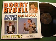 Bobby Rydell / Neil Sedaka / Johnny Rivers / Gene Pitney 1965 Allegro ALL 779 LP