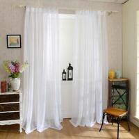 Europa weiße Gardinen Vorhang Fenster Tüll Vorhänge für Wohnzimmer Küche