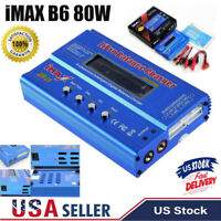 iMAX B6 80W RC Battery Charger Lipo Li-ion NiMh Battery Balance Digital Charger