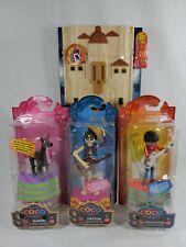 Disney PIXAR Skullectables Hacienda Playset and 3 Coco Skullectables Mini-Figure