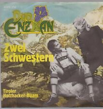"7"" duo Enzian deux soeurs/tiroler charpentiers Buam 80`s philips"