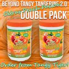 BEYOND TANGY TANGERINE 2.0 - Citrus Peach Fusion - FREE SHIPPING (DOUBLE PACK)
