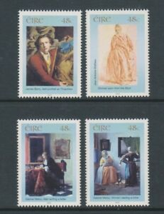 Ireland - 2003, National Gallery of Ireland set - MNH - SG 1606/9