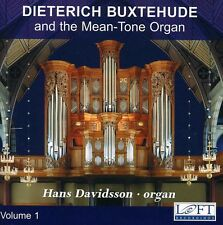 Hans Davidsson - Dieterich Buxtehude & the Mean-Tone Organ 1 [New CD]