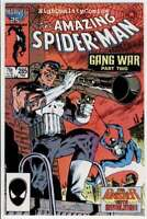 Amazing SPIDER-MAN 285, VF, Gang War, Punisher, 1963, more in store
