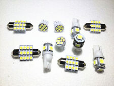 11PCS White LED Lights Interior Package T10 & 31mm Map Dome For Toyota