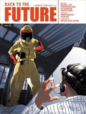 Mondo Back to the Future Poster George Bletsis Screenprint