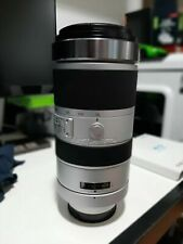 8167) Sony G-Series 70-400mm F4-5.6 SSM G Lens With Teleconverter X1.4 + X2