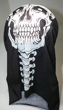 Skull and Spine Bandana Multi Functional Tube Bandana Scarf Headwear