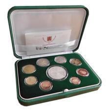 Vatikan EURO-Kurssatz KMS 2018 PP mit 20 Euro Silbermünze - Kursmünzensatz
