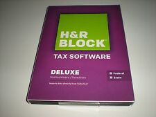 H&R Block 2014 Deluxe Federal & State. Imports Turbotax. Sealed retail box.