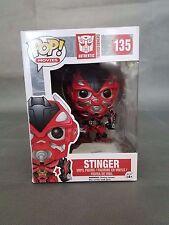 Funko Pop Stinger # 135 Transformers Vinyl Figure  New open box