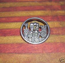 CHRISTMAS PIN W/ TRAIN TOY SOLDIER HALLMARK 1998