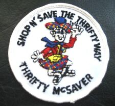 SHOP N SAVE ~ THRIFTY MCSAVER  EMBROIDERED SEW ON PATCH