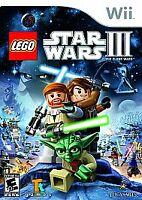LEGO Star Wars III: The Clone Wars (Nintendo Wii, 2011) COMPLETE