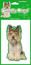 2 x Cairn Terrier Fragrant Air Freshener - Perfect Gift