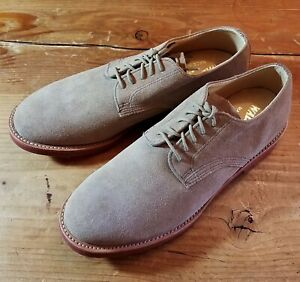 WALK-OVER TAN SUEDE BUCKS shoes. USA NEW 10-M