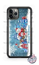 Christmas Snowman Family Holidays Phone Case Cover for iPhone 11 PRO Samsung LG