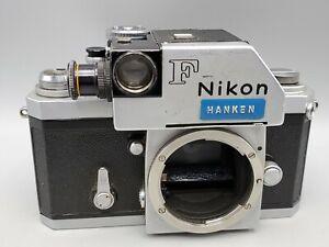 Early Rare - 1964 Nikon F SLR Film Camera w/ Photomic Finder *READ*