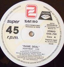 "RAWE DEAL - Heartbeat ~ 12"" Single SPANISH PRESS"
