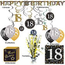 Dekorationen Für Den 18 Geburtstag Günstig Kaufen Ebay